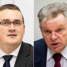 Premjero patarėjas TV eteryje susisiekimo ministrą išvadino kvailiu