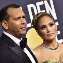 Dž. Lopez ir A. Rodriguezas neigia kalbas apie skyrybas