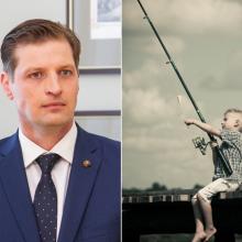 Ministras susirūpino jaunimo užimtumu: siūlys žvejoti nemokamai
