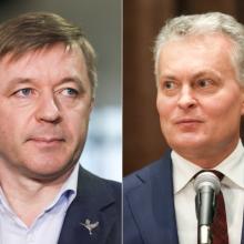 G. Nausėda prašo R. Karbauskio nekomentuoti jo sprendimų