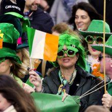 Šalies vadovai sveikina Airiją šv. Patriko dienos proga