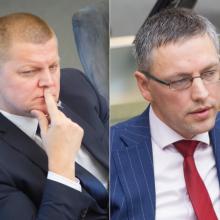 D. Gaižauskas šaukia neeilinį NSGK posėdį ir žeria priekaištus V. Bakui