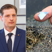 Ministras apie Nerį teršusį plastiką: liūdniausia, kad tai – tyčinis pažeidimas
