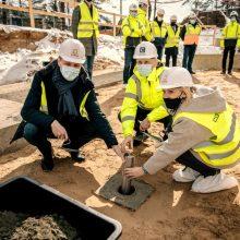 Bajoruose prasidėjo naujo darželio statybos: įkurtuvės – lapkritį