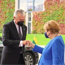 G. Nausėda vokiečių leidiniui: Lietuva sąmoningai neieško konfrontacijos