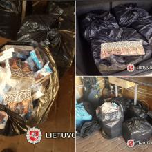 Pas Šalčininkų gyventoją rasta kontrabandos už 22 tūkst. eurų