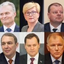 Paskutiniai prezidentiniai reitingai: tarp rinkimų favoritų – apylygė kova