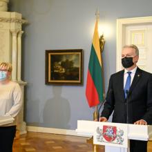 I. Šimonytė: prezidentas ir premjeras EVT galėtų dalyvauti pakaitomis