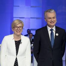 G. Nausėdos ir I. Šimonytės rinkimų sąskaitos smarkiai išaugo paskutinėmis dienomis