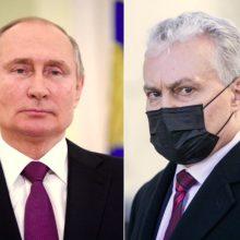 G. Nausėda: V. Putiną galima pavadinti žudiku