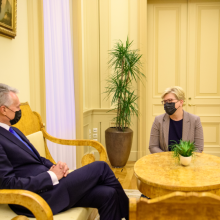 I. Šimonytė sako, kad prezidento kritika ministrų kabinetui nenustebino