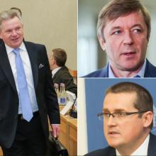 R. Karbauskis ir S. Malinauskas: pamainos J. Narkevičiui neieškoma