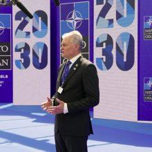 G. Nausėda Briuselyje: mums reikia aiškaus atsako Rusijos veiksmams