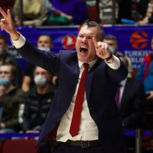 """Įspūdinga pergalė: """"Barcelona"""" varžovus sutriuškino pusšimčiu taškų"""