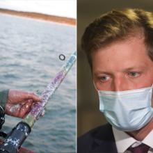 Seimas grąžino tobulinti siūlymą leisti žvejybą Žuvinto ežere