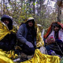 Apgręžiamiems migrantams bus dalijami humanitariniai paketai