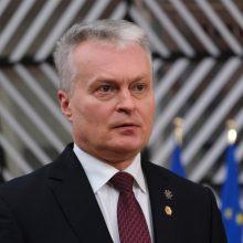 G. Nausėda: ES piliečius vakcina turi pasiekti kuo greičiau