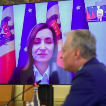 G. Nausėda: Lietuva remia Moldovos demokratines reformas