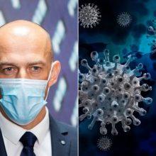 STT vadovui Ž. Bartkui ir jo pavaduotojui patvirtintas koronavirusas