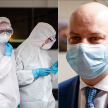 A. Veryga apdovanojo medikus už darbą suvaldant koronaviruso plitimą