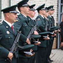 Amerikiečiai Lietuvos pasieniečiams perdavė įrangos už 4,5 mln. eurų