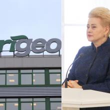 """D. Grybauskaitė apie """"Grigeo"""" skandalą: yra įstatymo spragų"""