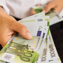 Darbuotojų prastovos valstybei jau kainavo 820 mln., šiemet pasieks 1 mlrd. eurų