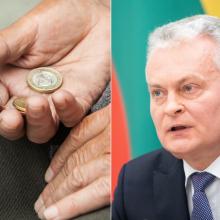 Seimas pritarė prezidento iniciatyvai: kitais metais didės pensijos