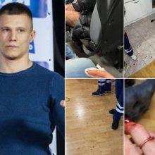Žinomas Lietuvos kovotojas Naujųjų naktį praleido areštinėje: sužalojo dvi moteris