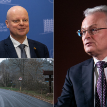 G. Nausėda ragina premjerą kreiptis į VTEK dėl kelio prie jo namų
