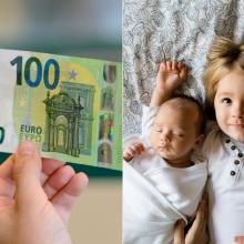 Naujas vaiko pinigų scenarijus: 60 ir 100 eurų visus metus