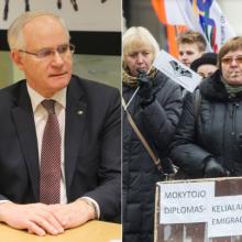 Ministras apie pedagogų reikalavimus: taškas dar nėra padėtas