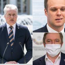 Sutaikyti Seimo lyderių prezidentui nepavyks?