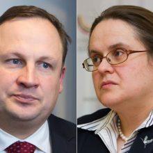 A. Širinskienė: E. Pašilio kandidatūra į ES teismą su Seimu nebuvo derinta