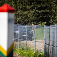L. Kasčiūnas: sienos Baltarusijos pasienyje statyboms reikėtų 15 mln. eurų