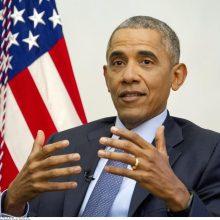B. Obama: respublikonų ištikimybė D. Trumpo melui dėl rinkimų klastojimo – grėsmė JAV demokratijai