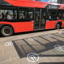Dėl keleivių saugumo keičiami dalies sostinės autobusų tvarkaraščiai