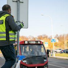 Jau netrukus Vilniuje – programėlė regėjimo negalią turintiems keleiviams