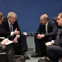 Britų premjeras perspėjo V. Putiną dėl Skripalių apnuodijimo