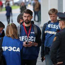 Pareiškime – susirūpinimas dėl situacijos Baltarusijoje ir žurnalistų saugumo