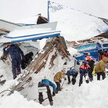 Rusijoje nuo grūdų saugyklos stogo nuslinkęs sniegas užmušė keturis žmones