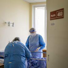 Ligoninėse nuo COVID-19 gydomi 1075 pacientai, 108 – reanimacijoje