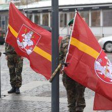 Vilnius švenčia gimtadienį – Rotušės aikštėje iškils miesto vėliavos