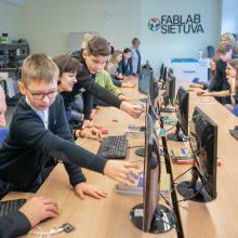 """Vilnius kuria ateities mokyklas: kas trečioje veiks """"FabLab"""" dirbtuvės"""