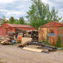 Baigiasi terminas: ragina nuo valstybinės žemės paskubėti nukelti garažus
