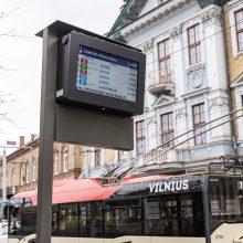 Laisvėjant karantinui – dažnesnis viešasis transportas Vilniuje