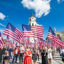 Sostinėje – JAV Nepriklausomybės dienai skirtas paradas