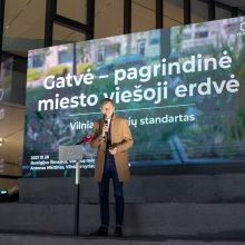 Vilniaus savivaldybė skelbia 12 principų, pagal kuriuos projektuojamos gatvės