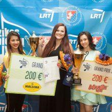 """Festivalio """"Muzikos talentų lyga"""" apdovanojimas padalintas perpus"""