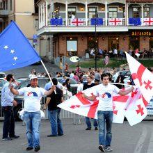 ES sprendimo dėl bevizio režimo Gruzijoje tikimasi iki spalio